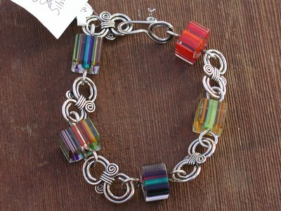 Furnace Glass Bracelet