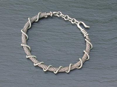 Sterling Super Coil Bracelet