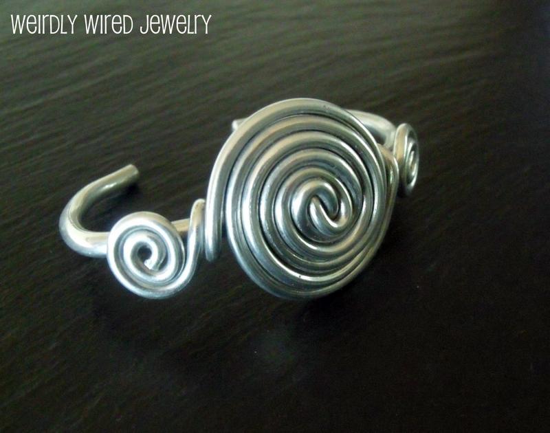 Aluminum Spiral Bracelet