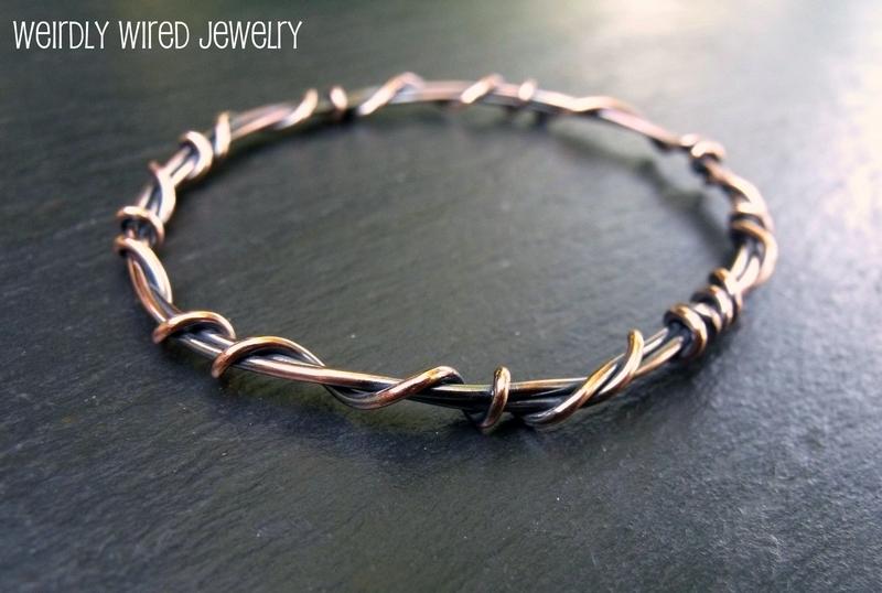 Copper Wire Bangle