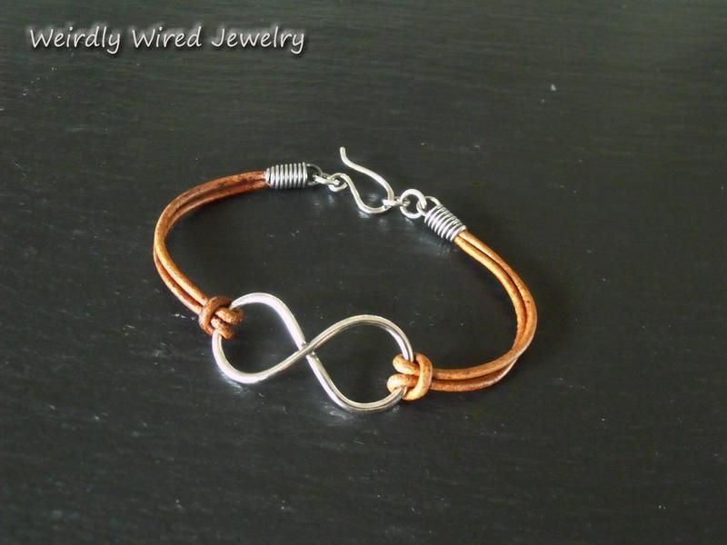 Wire Infinity Bracelet