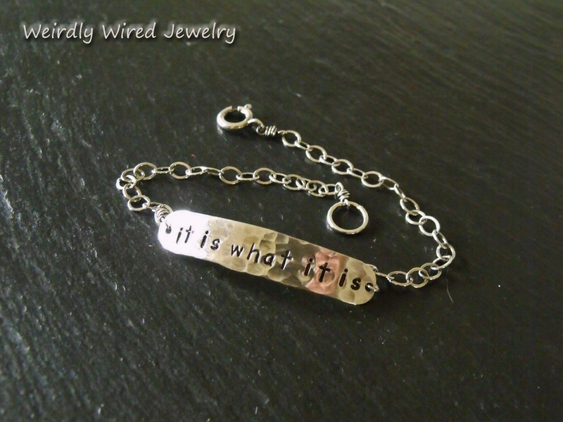 L/C It is what it is Bracelet