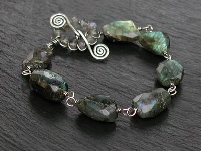 Rustic Labradorite Bracelet