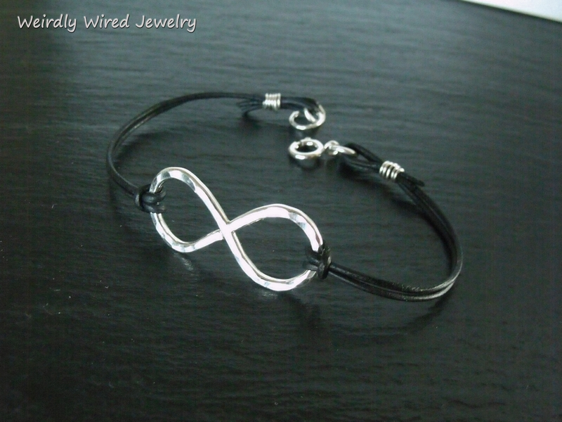 Sterling Infinity Thin Leather