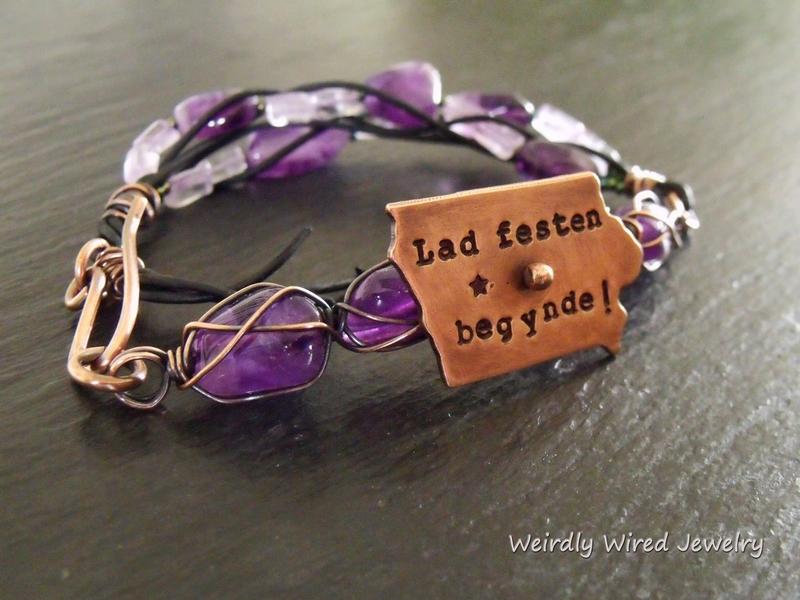 Tivoli Fest Amethyst Bracelet