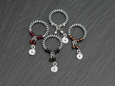 Coil & Bead Drink Markers