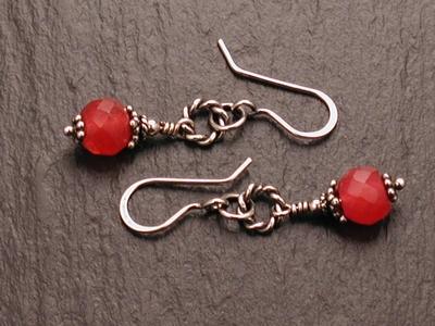 Ruby Jade Earrings