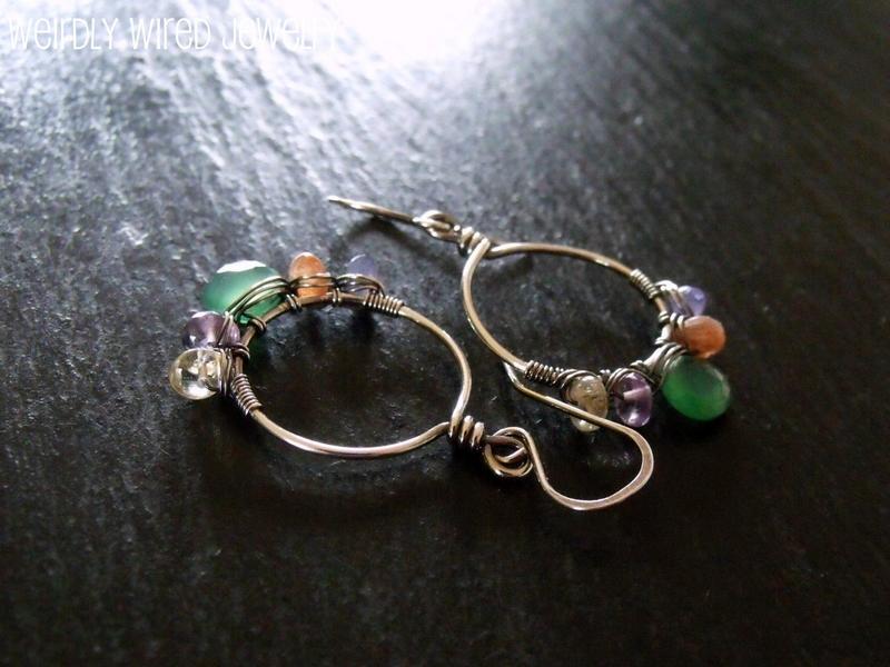 Colorful Hoop Earrings