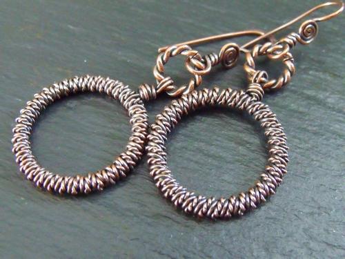 Super Copper Earrings