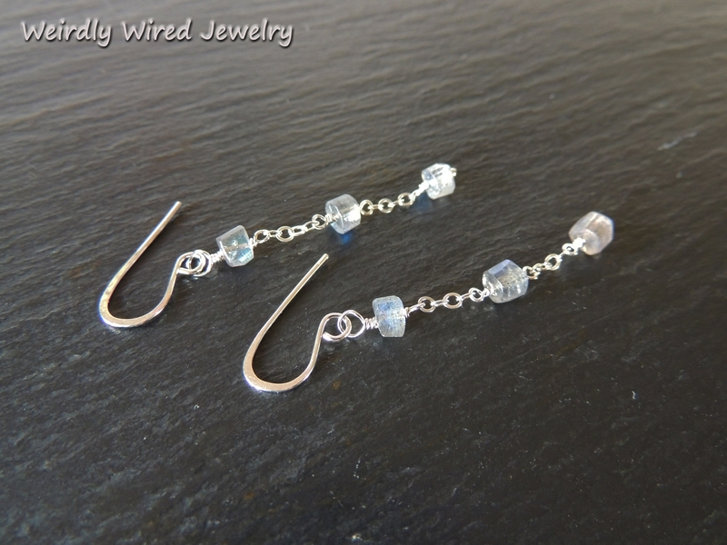 Labradorite Hieshi Earrings