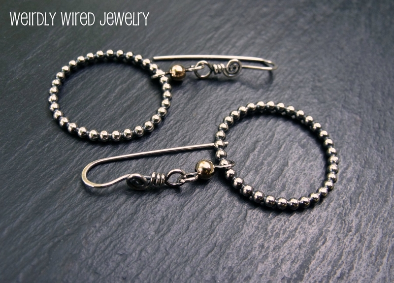 Sterling Bead Wire and GF Hoops