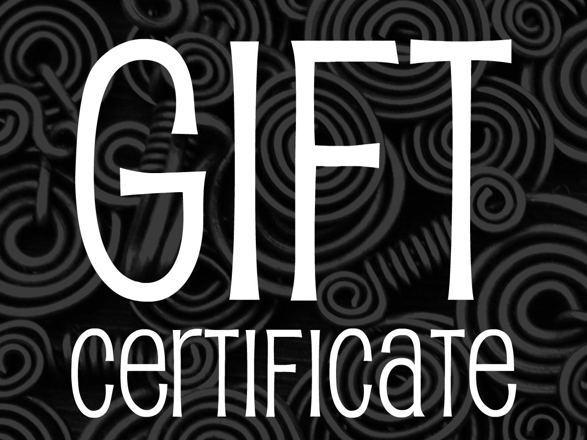 Gift Certificates!!!