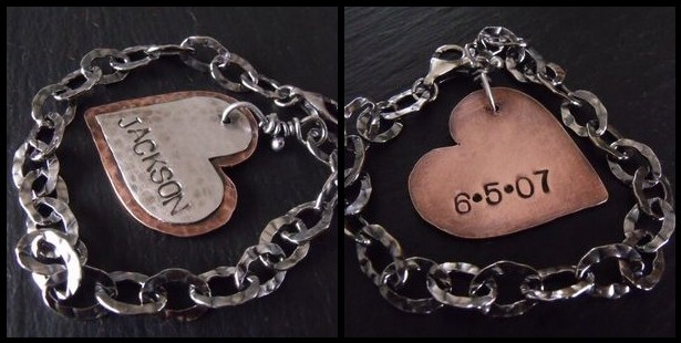 Jackson Mothers Stamped Bracelet
