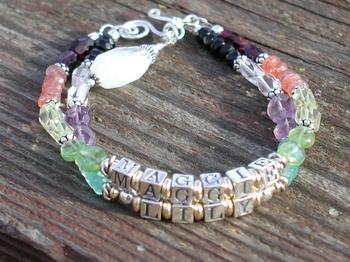Chakra Name Bracelet