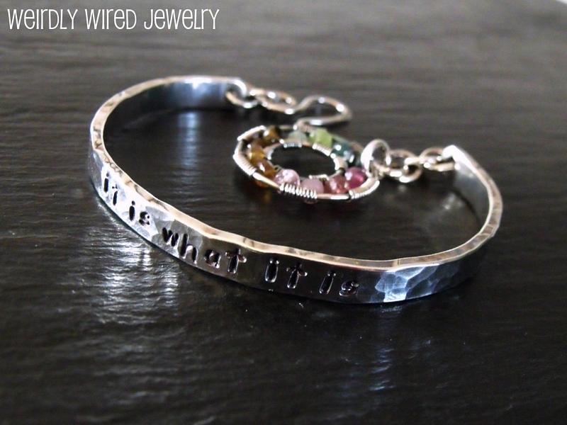 It is what it is Bracelet-Tourmaline Circle2