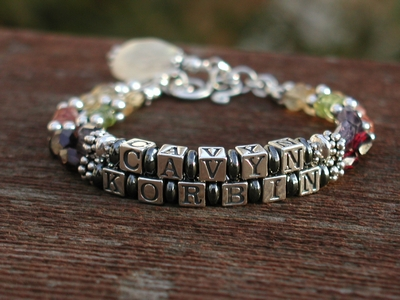 Nelson Mother Name Bracelet