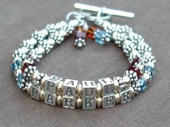 Two Strand Mother's Bracelet
