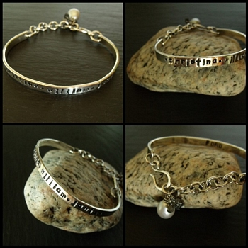 Stapmed Cuff Bracelet