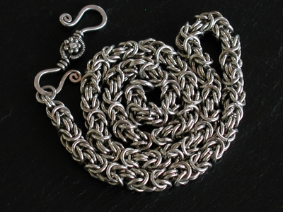 Sterling Byzantine Necklace