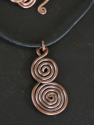 Copper Charm Necklace