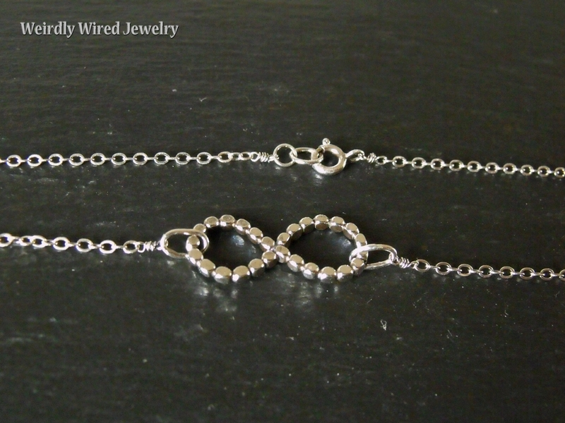 Beadwire Infinity Necklace