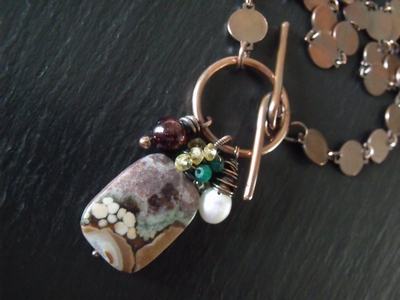 Conglomerite Jasper Necklace