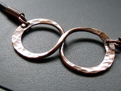 Copper Infinity Necklace