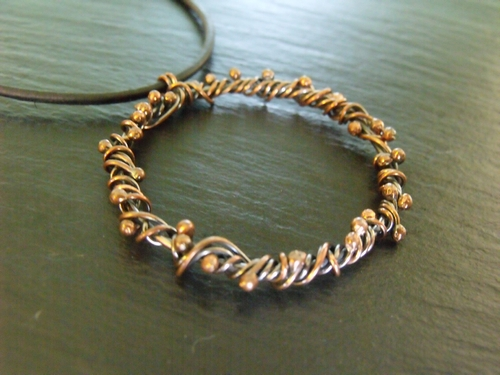 Copper Vine Necklace