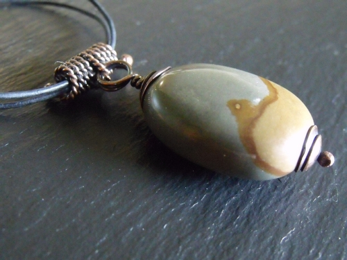 Cripple Creek Jasper Necklace