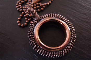 Fat Frank Copper Pendant