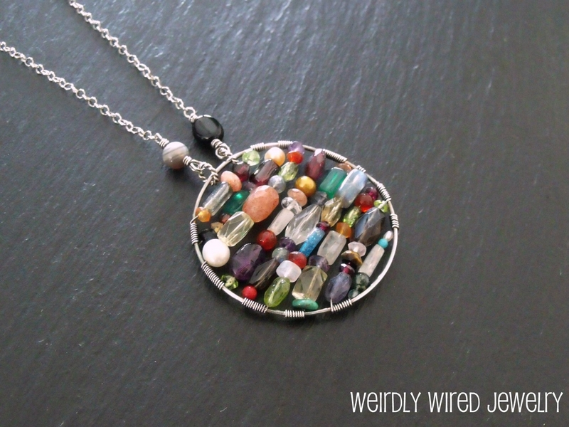 Gemstone Celebration Pendant