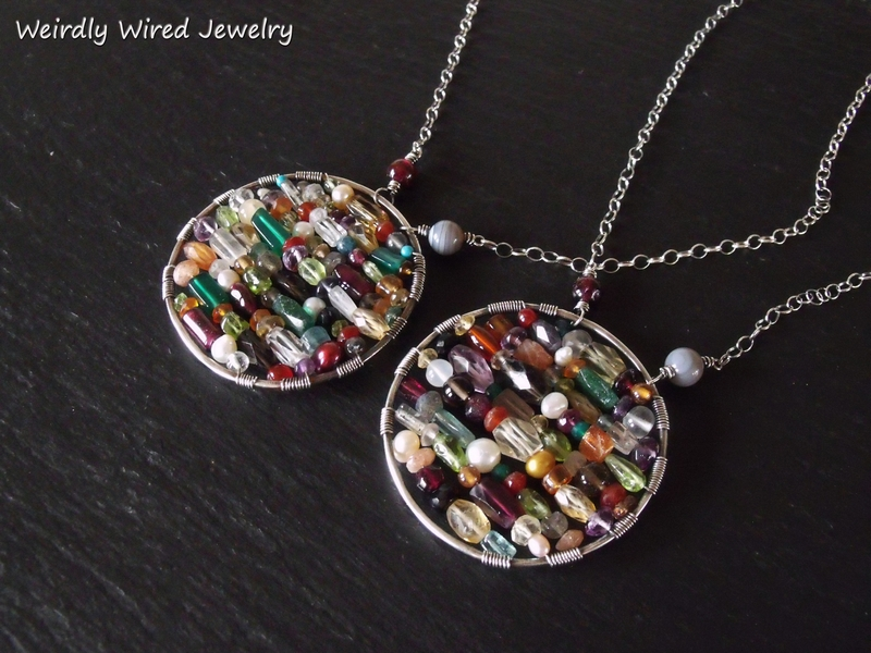 Gemstone Celebration Pendants