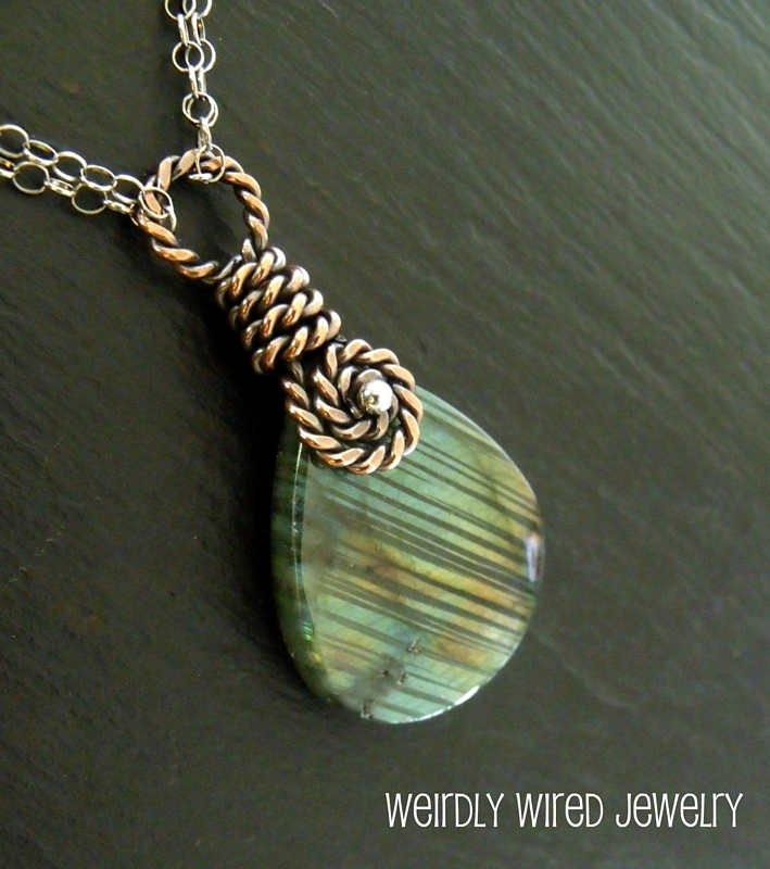 Labradorite Necklace - Kim