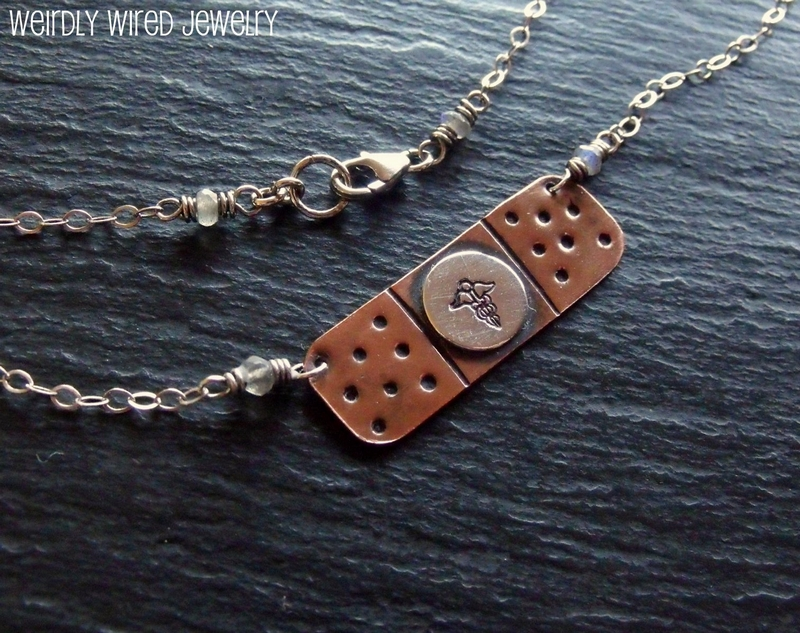 Nurse Band-Aid Necklace