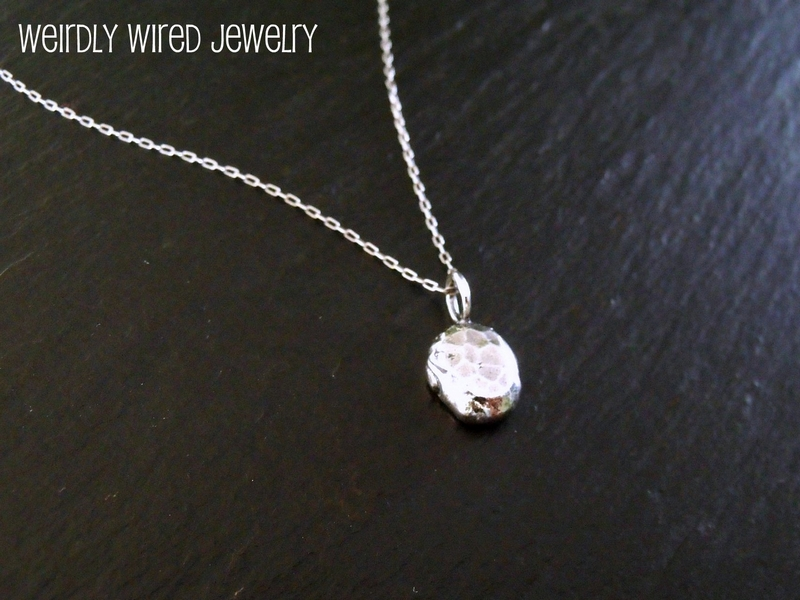 Recycled Sterling Necklace