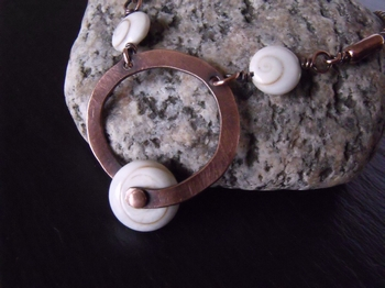 Shiva Shell Bypass Necklace
