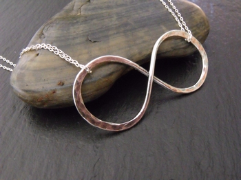 Sterling Infinity Necklace