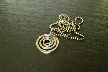 Simple Sterling Spiral