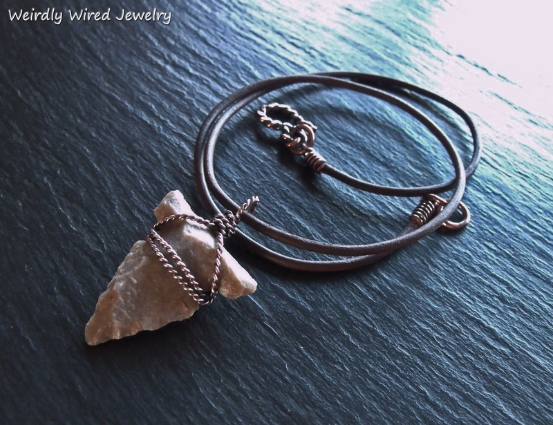 Twisted Wire Wrapped Arrowhead