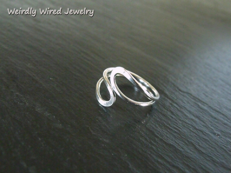 Squished Oval Adjustable Ring