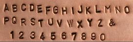 Block Style Font