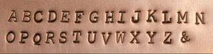 Typewriter Style Font