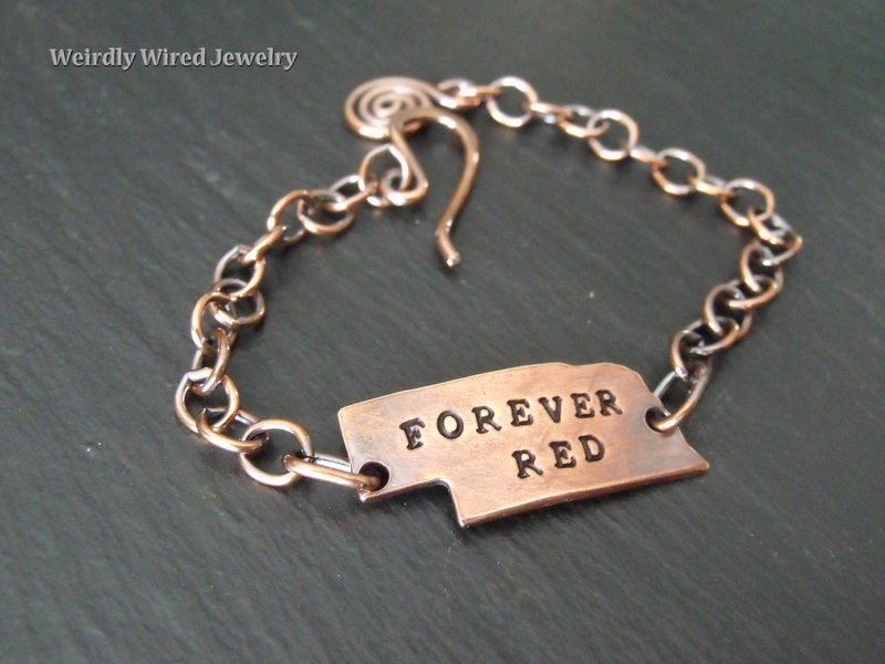 Copper Nebraska Bracelet