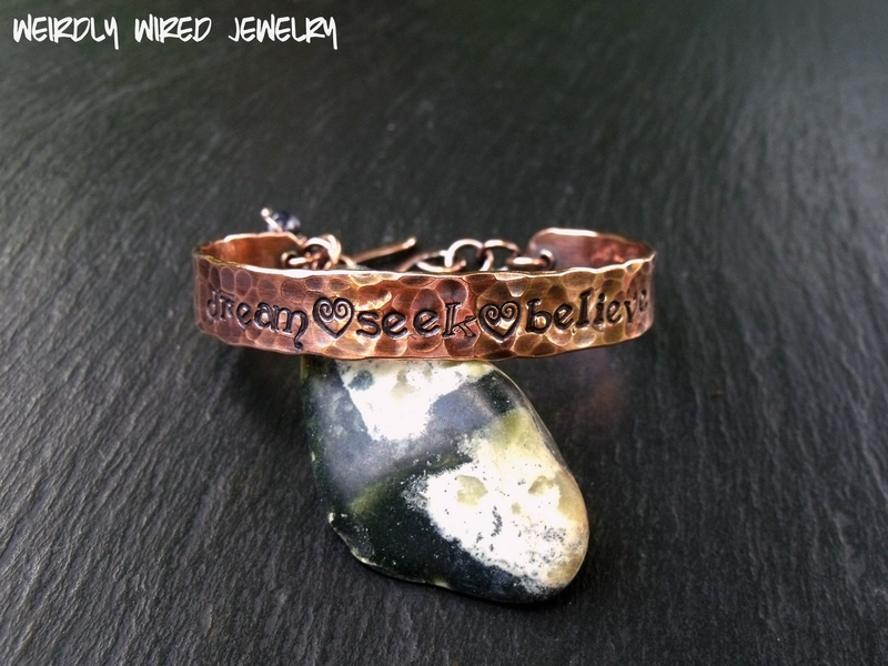 Copper Cuff-dream seek believe