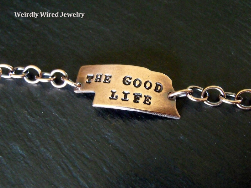 Nebraska-The Good Life Bracelet